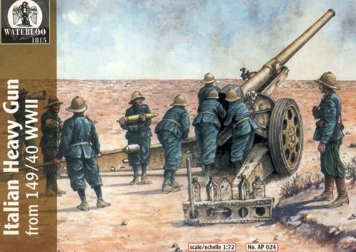 1:32 Waterloo 1815 AP016 Italian WWII Infantry El Alamein