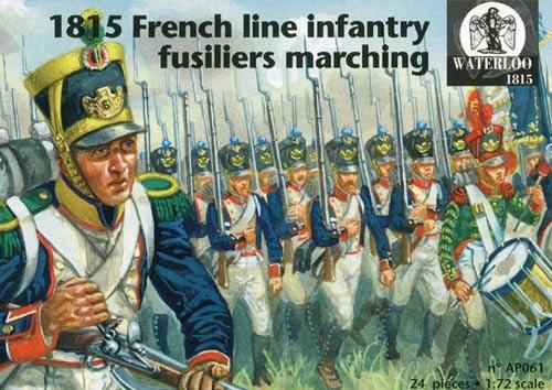 1:72 Waterloo1815 #039 Napoleon Schotten Highlander Soldaten Infanterie Armee