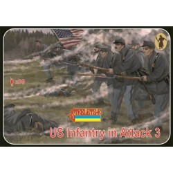 US infantry on the march 1:72 Strelets 0149
